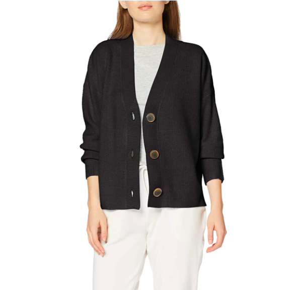 Marca Amazon - find. Stitch Cardigan - chaqueta punto Mujer