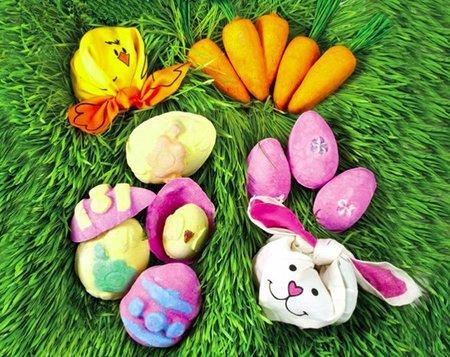 Huevos y conejos, la propuesta de Lush para Semana Santa