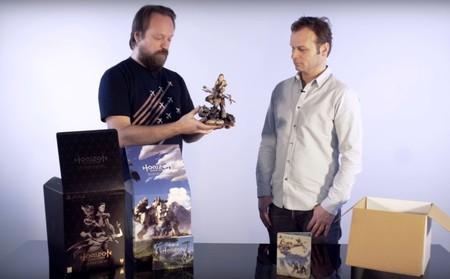 El presidente de Guerrilla hace el unboxing de la edición de coleccionista de Horizon Zero Dawn