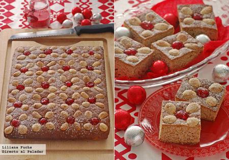 Honigkuchen, pastelitos de miel y especias. Receta de Navidad