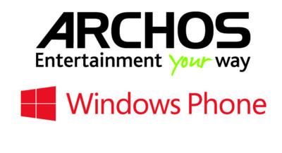 Archos lanzará teléfonos Windows Phone cuando sea el momento adecuado