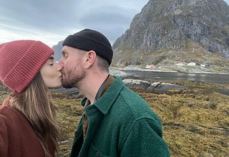 lily collins luna de miel Escandinavia
