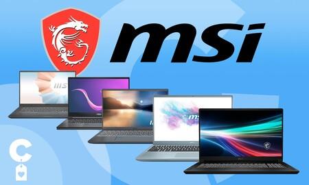 Estos 11 potentes portátiles te salen mucho más baratos ahora en Amazon: ofertas en portátiles MSI para trabajar o crear contenidos