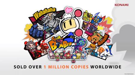 Super Bomberman R Bungee! El Dynablaster de Konami celebra el millón de copias vendidas haciendo puenting