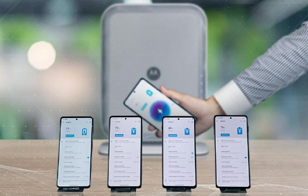 Motorola Air Charging: la carga inalámbrica sin contacto con la que prometen cargar hasta cuatro dispositivos a la vez