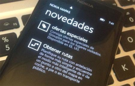 Nokia Mapas añade Groupon a sus mapas, pero solo en Estados Unidos