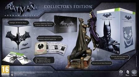 Aquí tenemos la edición coleccionista de 'Batman: Arkham Origins' para España