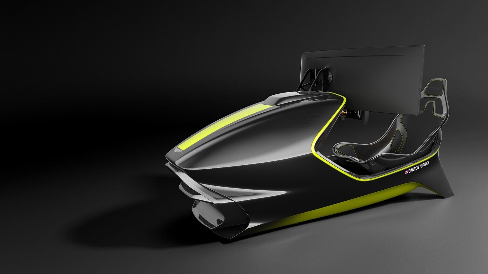 Foto de Simulador Aston Martin AMR-C01 (3/19)