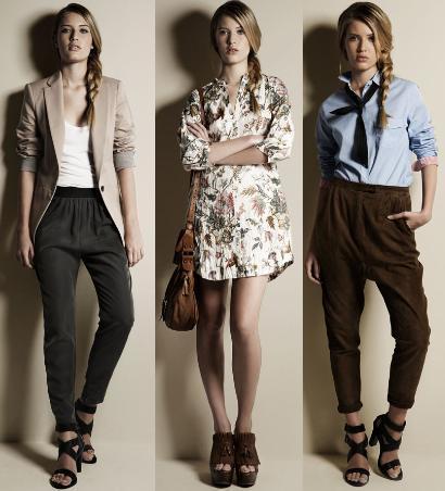 Looks Zara Primavera 2010: cómo combinar ya sus prendas de entretiempo