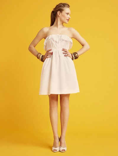 Strapless Blanco, lookbook Verano 2011