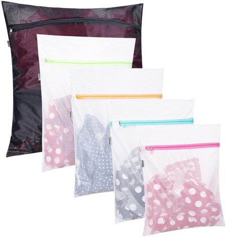 Bolsas con zip transparente