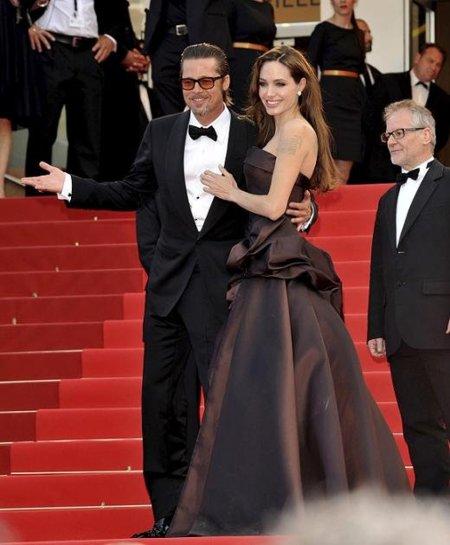 Alfombra Roja de 'El árbol de la vida' con Angelina Jolie como protagonista