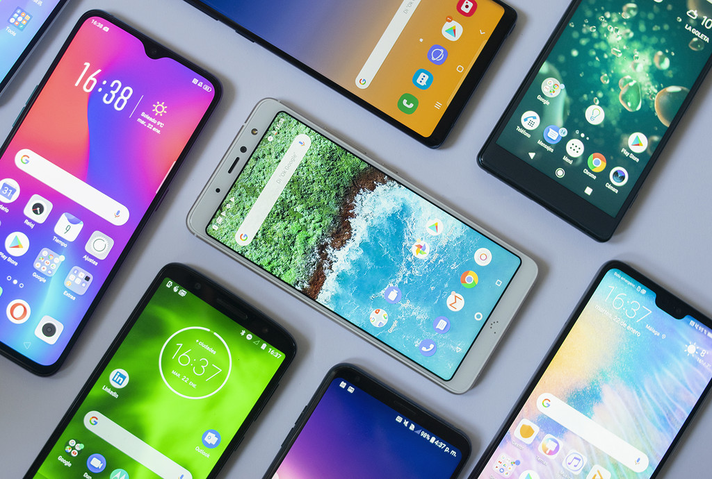Comparamos a riqueza las capas de personalización de Android: de este metodo es el software de Samsung, Huawei, LG, Xiaomi, Google® y más