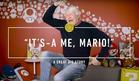 Charles Martinet recibe el premio Guinness: 100 juegos siendo la voz de Mario... y sumando