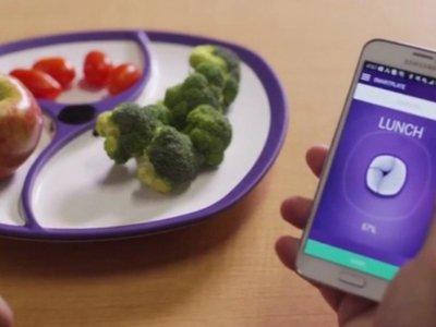El colmo de la cuantificación: un plato inteligente que observa lo que comes y cuenta las calorías