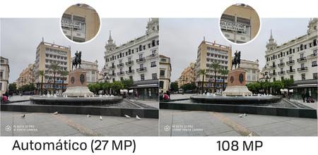 Comparativa 27 Vs 108 Mp