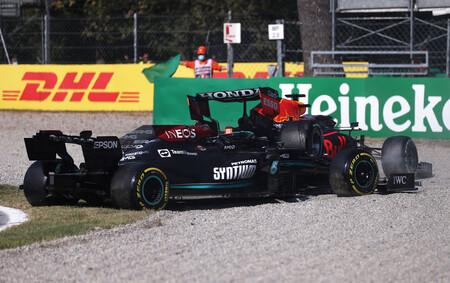 Verstappen Hamilton Italia F1 2021