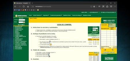 Juan Roig admite que la web de Mercadona