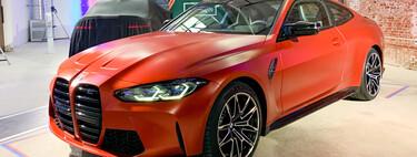 Primer contacto con los BMW M3 y M4 Coupé: enormes formas musculosas