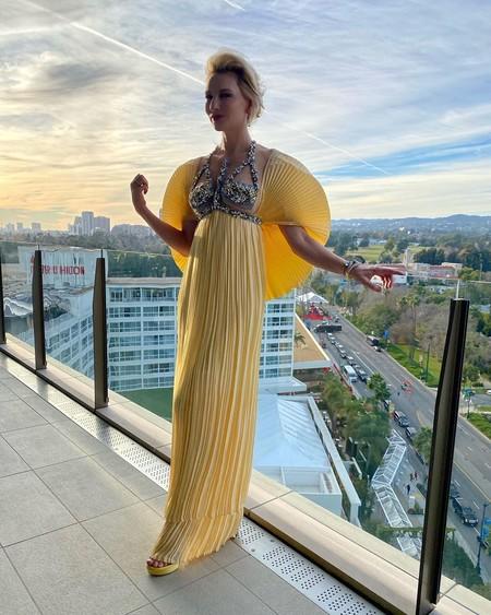 Cate Blanchett Luce Un Vestido Mariposa En Los Globos De Oro 2020