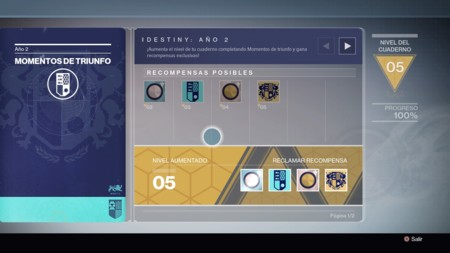 Momentos De Triunfo Ano 2 Destiny 2