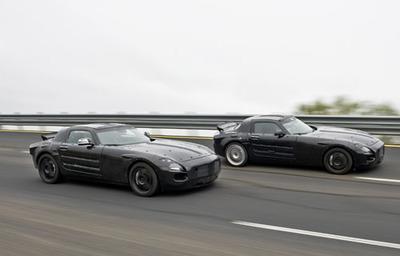 El Mercedes SLS AMG eléctrico podría llegar en 2013
