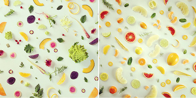 Collages culinarios de Julie's Kitchen