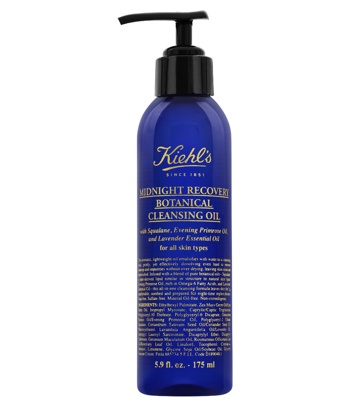 Midnight Recovery Botanical Cleansing Oil' de Kiehl's