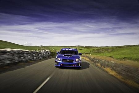 El Subaru WRX STi mejoró su propio récord en la Isla de Man