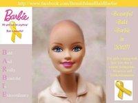 Piden a Mattel una Barbie calva para las niñas con cáncer