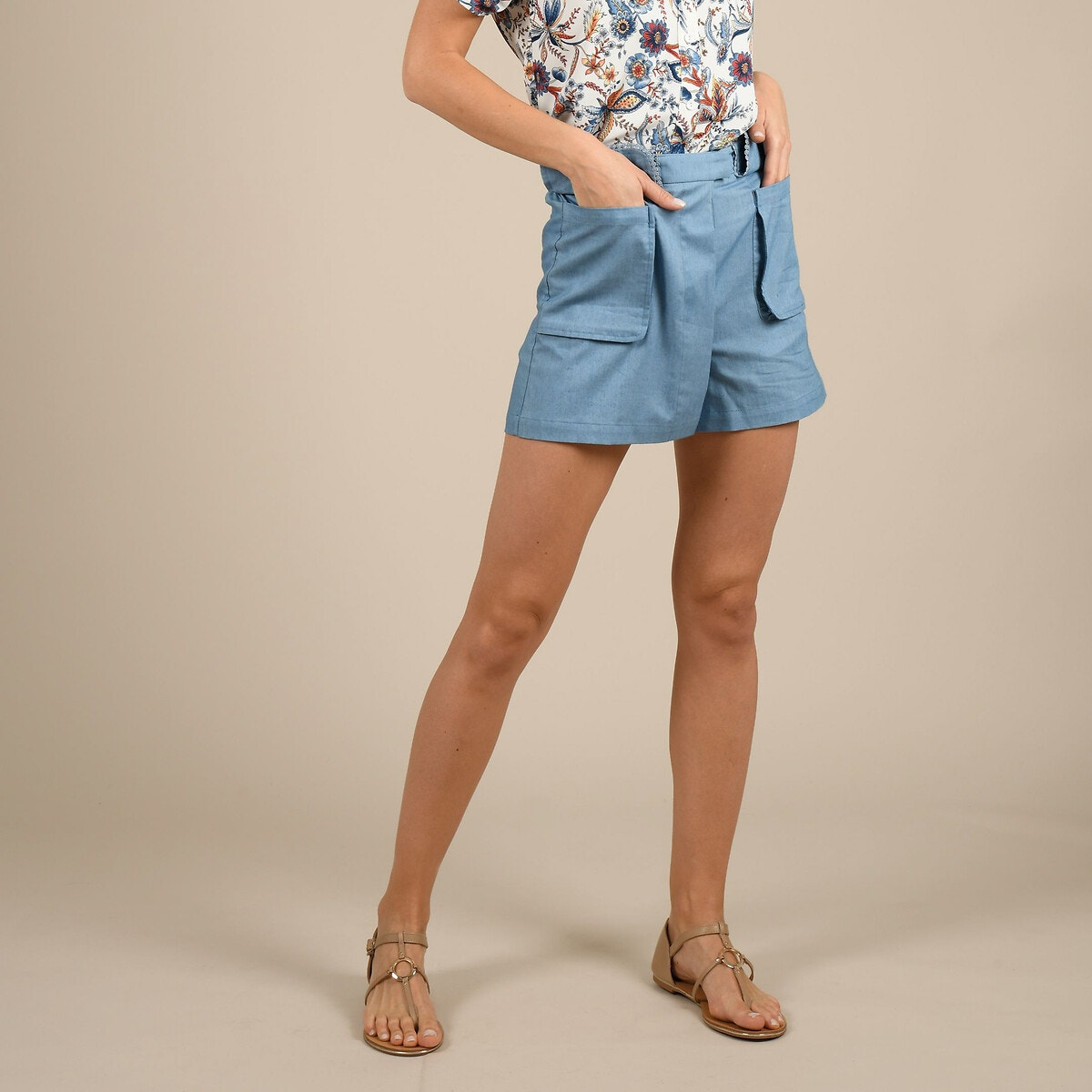 Short efecto falda