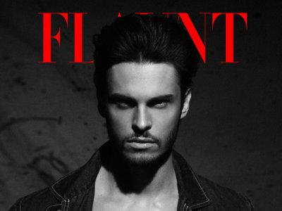 Baptiste Giabiconi en portada de la revista Flaunt para promocionar su nueva carrera musical