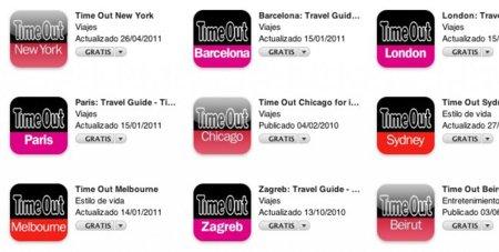 Time Out ofrece gratuitamente todas sus guías de viaje para iPhone hasta el 2 de mayo