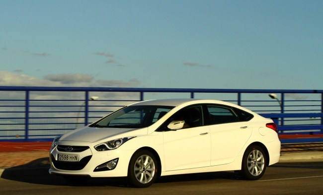 Hyundai i40 Perfil