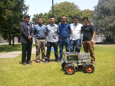 En Chapingo crean robot agricultor que irá a competir a Inglaterra