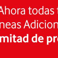 Vodafone rebaja el 50% sus líneas móviles adicionales para siempre si activas en junio, incluso si ya eres cliente