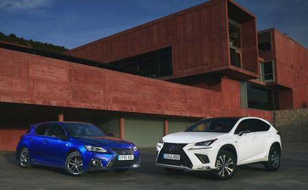 Lexus NX 300h y CT 200h 2018: los más vendidos de Lexus se renuevan