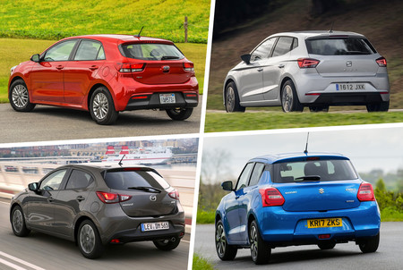 Mazda2 Vs Swift Vs Ibiza Vs Rio 7