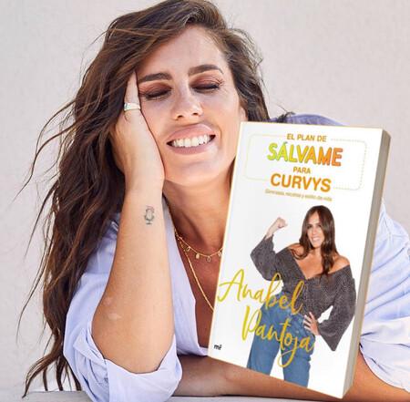 Anabel Pantoja publica su primer libro: un manual 'curvy' contra la obesidad