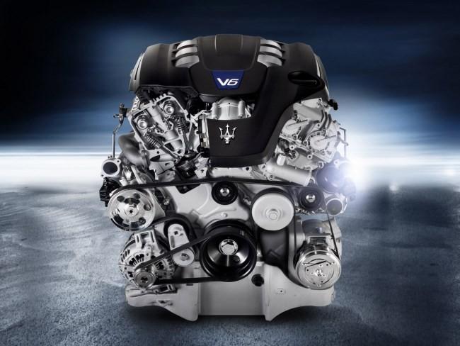 Motor V6 Maserati Ghibli