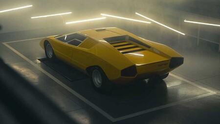 Primer Lamborghini Countach Lp500 Restaurado 3