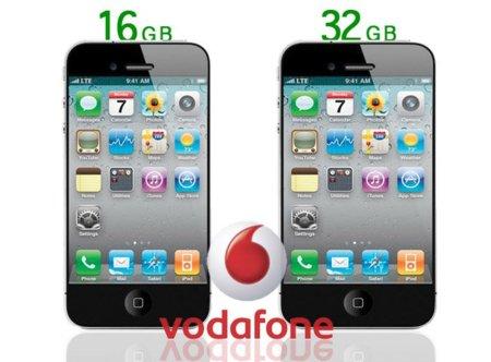 iPhone 5 llegará con 16 o 32 Gb de capacidad y en color blanco o negro, según Vodafone UK