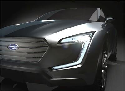 Subaru mostrará el prototipo VIZIV en Ginebra