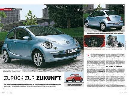Confirmado el motor posterior para el Volkswagen City Expert