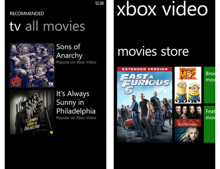 Xbox Video para Windows Phone 8 ya está disponible