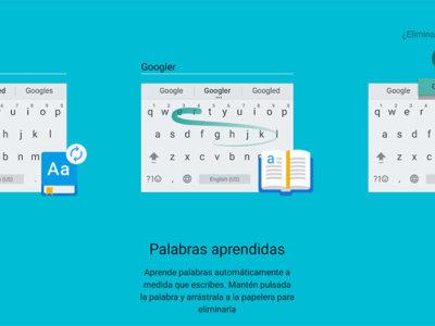 Teclado de Google 5.0 para Android, conoce todas las novedades esta gran actualización