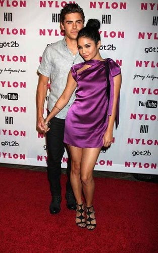 Zac Efron, Vanessa Hudgens y Ashley Tisdale en el Young Hollywood de la Revista Nylon