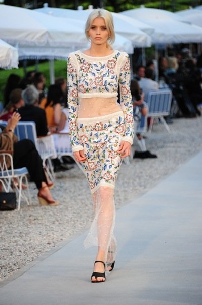 Colección Chanel Crucero 2012 flores