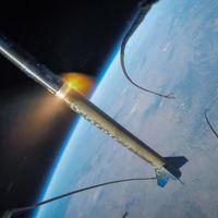 Este pequeño cohete fue al espacio llevando una GoPro consigo y esto es lo que grabó