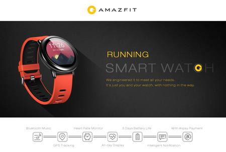 Reloj inteligente Xiaomi Amazfit Sports por sólo 83,96 euros y envío gratis con este cupón